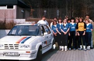 Handball-Mädchen-Mannschaft der SG Bremthal